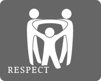 Notre valeur : respect